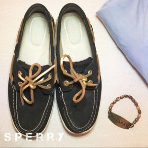 Sperry Memory Foam Loafer Boat Flat Walking Shoes